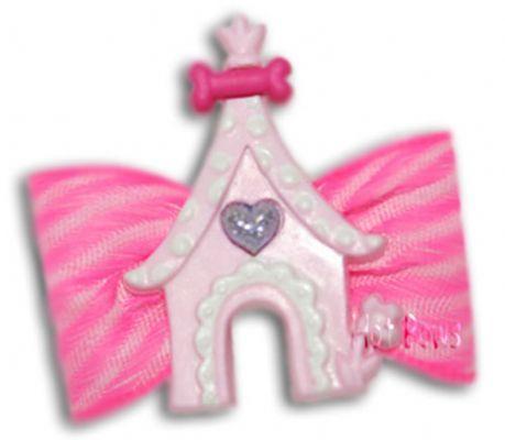 (1万円以上のお買い上げで送料無料)  犬用ヘアボウ(髪留め)Princess Pad Bow