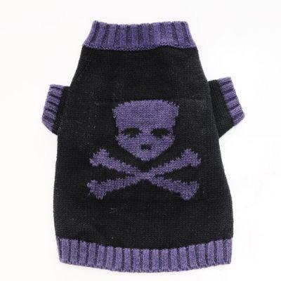 大特価!! 1万円以上で送料無料 Pooch Outfitters ついに入荷 Sweater犬用スカルセーター プーチアウトフィッター Skull