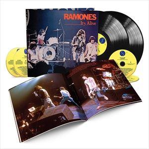 [送料無料] 輸入盤 RAMONES / IT'S ALIVE (40TH ANNIVERSARY DELUXE EDITION) [4CD+2LP]