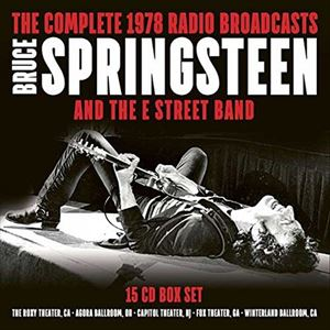 [送料無料] 輸入盤 BRUCE SPRINGSTEEN & THE E STRE / COMPLETE 1978 RADIO BROADCASTS [15CD]