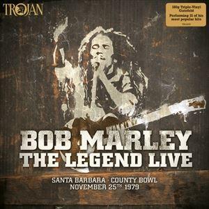 最新 輸入盤 BOB MARLEY THE WAILERS 定番から日本未入荷 LEGEND 3LP IN SANTA LIVE BARBARA