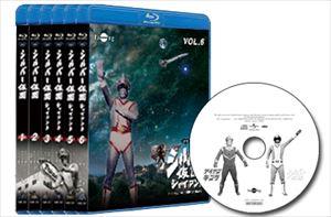 [送料無料] シルバー仮面 Blu-ray シルバー&アイアン カバーコンピCD付き全巻セット [Blu-ray]