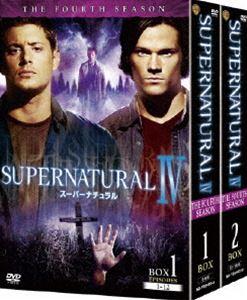 [送料無料] SUPERNATURAL IV〈フォース・シーズン〉コンプリート・ボックス [DVD]