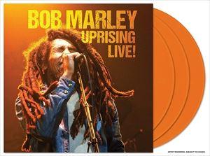 海外並行輸入正規品 輸入盤 BOB MARLEY UPRISING 店内限界値引き中&セルフラッピング無料 LIVE LTD 3LP