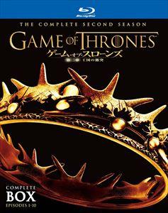 [送料無料] ゲーム・オブ・スローンズ 第二章:王国の激突 ブルーレイ コンプリート・ボックス [Blu-ray]