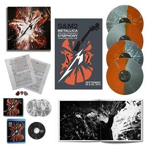 輸入盤 METALLICA & SAN FRANCISCO SYMPHONY / S&M2 (DELUXE BOX) (LTD) [2CD+4LP+BD]