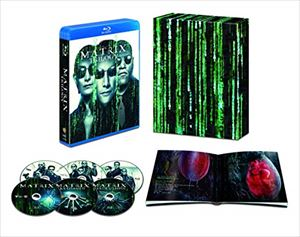 [送料無料] マトリックス トリロジー HDデジタル・リマスター&日本語吹替音声追加収録版【初回限定生産】 [Blu-ray]