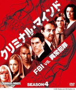 商舗 海ドラ傑作選 クリミナル マインド FBI vs. 超歓迎された 異常犯罪 DVD シーズン4 コンパクトBOX