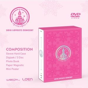 [送料無料] 輸入盤 LOVELYZ / 2018 LOVELYZ CONCERT (IN WINTER WORLD 2) [3DVD]