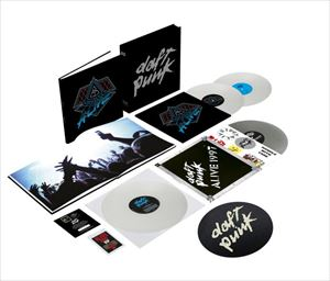 [送料無料] 輸入盤 DAFT PUNK / ALIVE 2007 (LTD) [4LP]