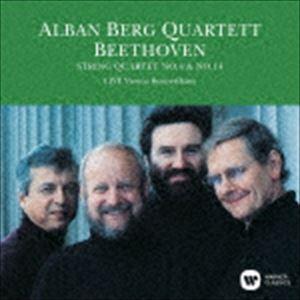 アルバン ベルク四重奏団 ベートーヴェン:弦楽四重奏曲 第4番 お値打ち価格で CD 今だけ限定15%OFFクーポン発行中 1989年ライヴ 第14番 UHQCD