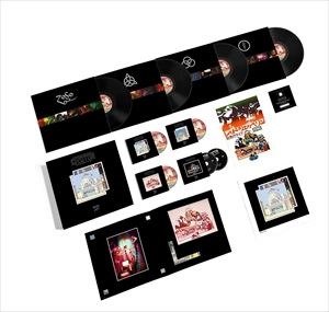 [送料無料] 輸入盤 LED ZEPPELIN / SONG REMAINS THE SAME (SUPER DELUXE BOXED SET) (LTD) [2CD+4LP+3DVD]