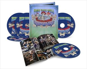 [送料無料] 輸入盤 GRATEFUL DEAD / FARE THEE WELL (JULY 5th) [3CD+2DVD]