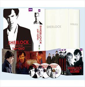 [送料無料] SHERLOCK/シャーロック コンプリート シーズン1-3 DVD-BOX [DVD]