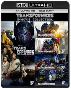 [送料無料] トランスフォーマー 5ムービー・コレクション[4K ULTRA HD+Blu-rayセット] [Ultra HD Blu-ray]