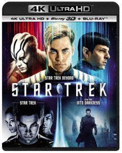 [送料無料] スター・トレック 3ムービー・コレクション[4K ULTRA HD+3D Blu-ray+Blu-rayセット] [Ultra HD Blu-ray]