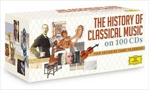 [送料無料] 輸入盤 VARIOUS / HISTORY OF CLASSICAL MUSIC [100CD]