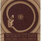 [送料無料] 輸入盤 VARIOUS / WHAT IT IS! : FUNKY SOUL AND RARE GROOVES (1967-1977) [4CD]