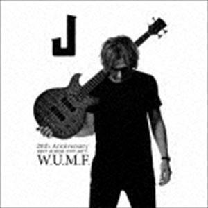 [送料無料] J / J 20th Anniversary BEST ALBUM<1997-2017> W.U.M.F.(初回生産限定盤/2CD+Blu-ray) [CD]
