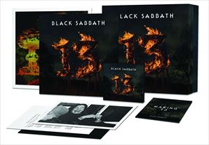 [送料無料] 輸入盤 BLACK SABBATH / 13 (SUPER DELUX EDITION/LTD) [2CD+2LP+DVD]