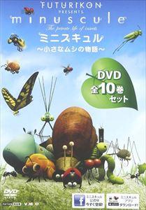 【安心発送】 [送料無料] ミニスキュル [DVD] ~小さなムシの物語~ ミニスキュル [送料無料] 全10巻セット [DVD], 遠藤食品:b7ad7798 --- claudiocuoco.com.br