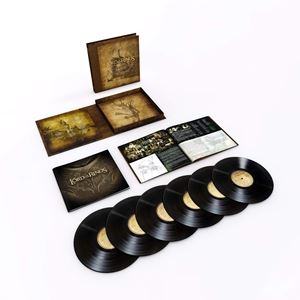 [送料無料] 輸入盤 O.S.T. / LORD OF THE RINGS: MOTION PICTURE TRILOGY SOUNDTRACK (LTD) [6LP]