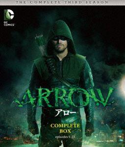 [送料無料] ARROW/アロー〈サード・シーズン〉 コンプリート・ボックス [Blu-ray]