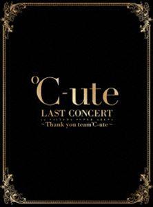 [送料無料] ℃-ute ラストコンサート in さいたまスーパーアリーナ ~Thank you team℃-ute~(初回生産限定盤) [Blu-ray]