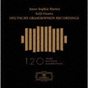 [送料無料] 小澤征爾(cond) / アンネ=ゾフィー・ムター&小澤征爾 ドイツ・グラモフォン録音集(数量限定BOX盤/SHM-CD) [CD]