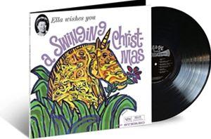 輸入盤 ELLA FITZGERALD WISHES YOU 最安値 A LP 安心の定価販売 VINYL STANDARD SWINGING CHRISTMAS