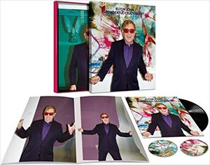 [送料無料] 輸入盤 ELTON JOHN / WONDERFUL CRAZY NIGHT (BOX) [2CD+LP]