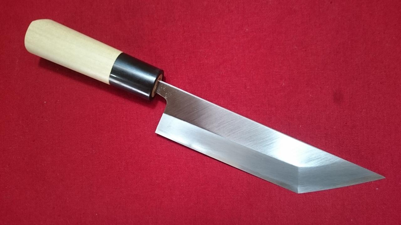 堺 霞仕上げ 江戸裂 関東型 うなぎ裂 青紙二号 165mm 鍛造 鰻包丁 ウナギさき