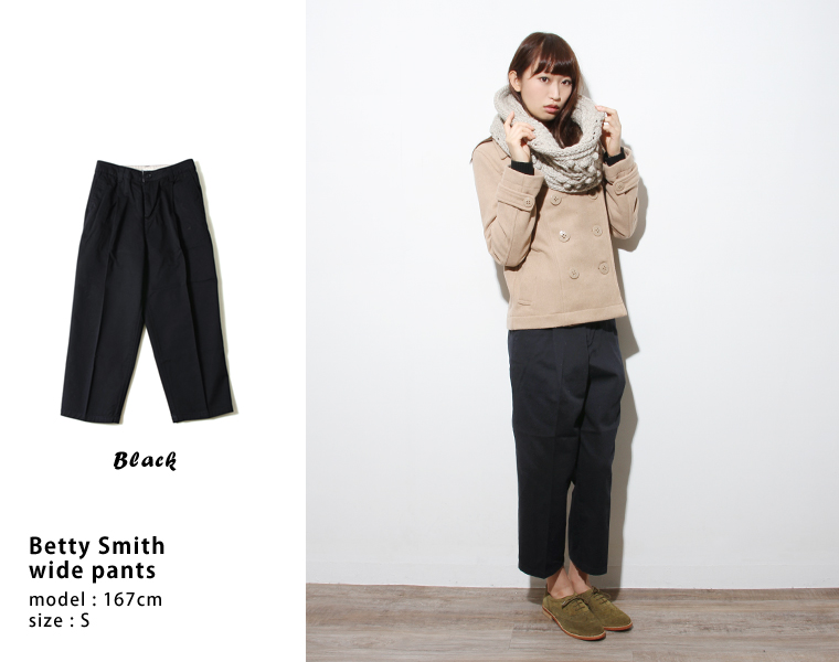 """日本制造的 BettySmith 贝蒂 · 史密斯掖宽裤裤妇女女装 baw5032""""— — 鳕鱼费»"""