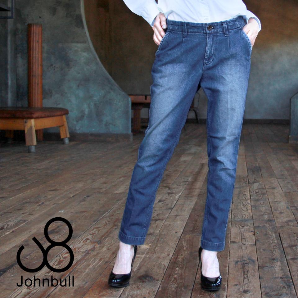 【アイテム】日本製 11oz デニム コンフォート トラウザー ストレッチ テーパード パンツ【ブランド】Johnbull(ジョンブル)【型番】AP-365