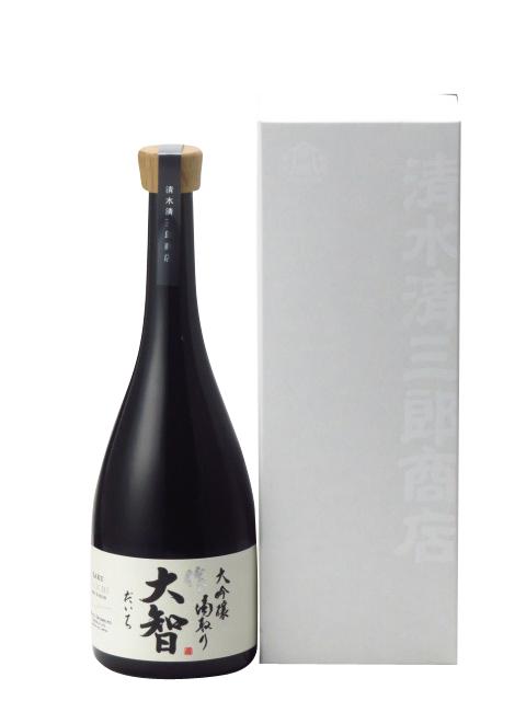 作 大智 大吟醸 滴取り 750ml 2019年7月詰め 日本酒 あす楽 ギフト のし 贈答品 セール