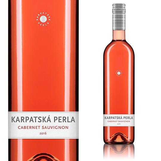 【欧州格付けワイン受賞商品多数】【2本以上お買い上げで送料無料】【スロバキア】カルパツカ・ペルラ カベルネ・ソーヴィニヨン ロゼ 2018(ロゼ/辛口)《Karpatska Perla Cabernet Sauvignon rose 2015》