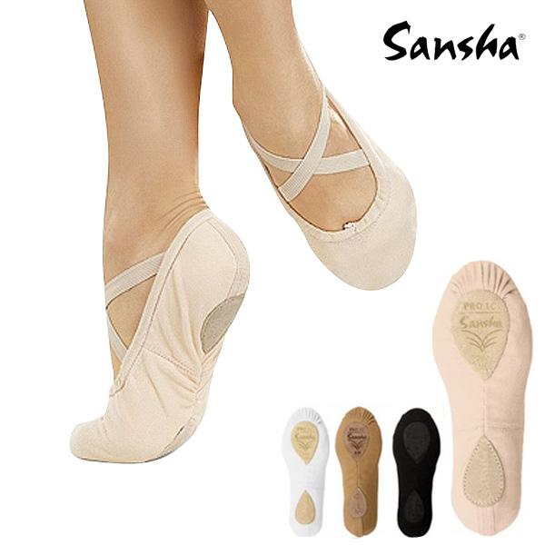 世界で一番売れていると言っても過言ではない人気のシューズを格安で サンシャ Pro-1C バレエシューズ :細幅23.5cm相当のみ 手縫いスプリット バレエ 大人 バレエ用品 トラスト ダンス 訳あり商品 シューズ 大人バレエ ジャズ エレクトーン レディース 靴 バレーシューズ スプリット ダンスシューズ くつ ジャズダンス