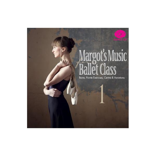 人気ピアニスト、マーゴのレッスン曲が待望のCD化! バレエCD★マーゴ・カジミルスカのミュージック・フォー・バレエ・クラス 1 Margo's Music for Ballet Class (レッスンCD)*