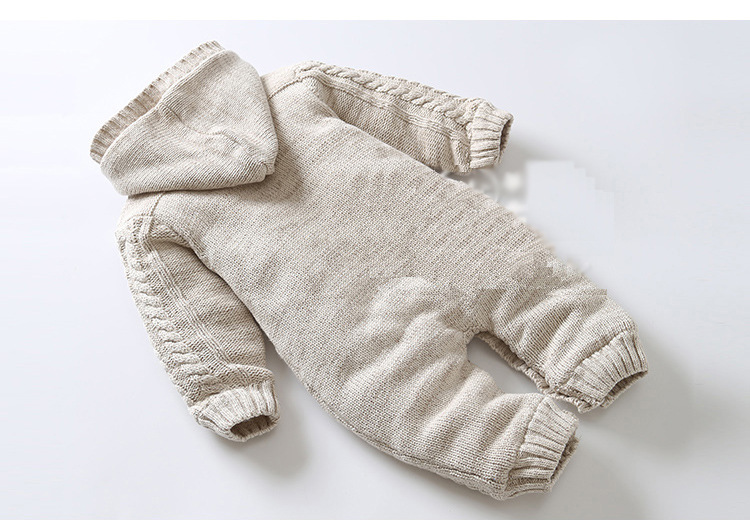 7dc895b5dcbbe ... カバーオールふわふわ裏起毛ロンパースパジャマコートアウター帽子付き新生児 ·  商品到着後レビュー投稿で、帽子プレゼント  出産祝い赤ちゃんベビー服防寒
