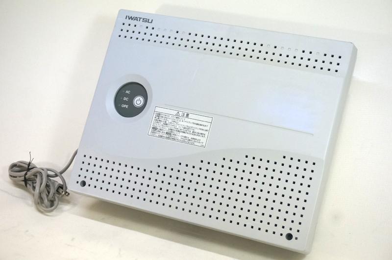 【中古】岩崎通信機 IWATSU PRECOT/プレコット 主装置 ビジネスホン用、最大外線収容6回線迄・最大内線収容16台迄 NR-616KSU