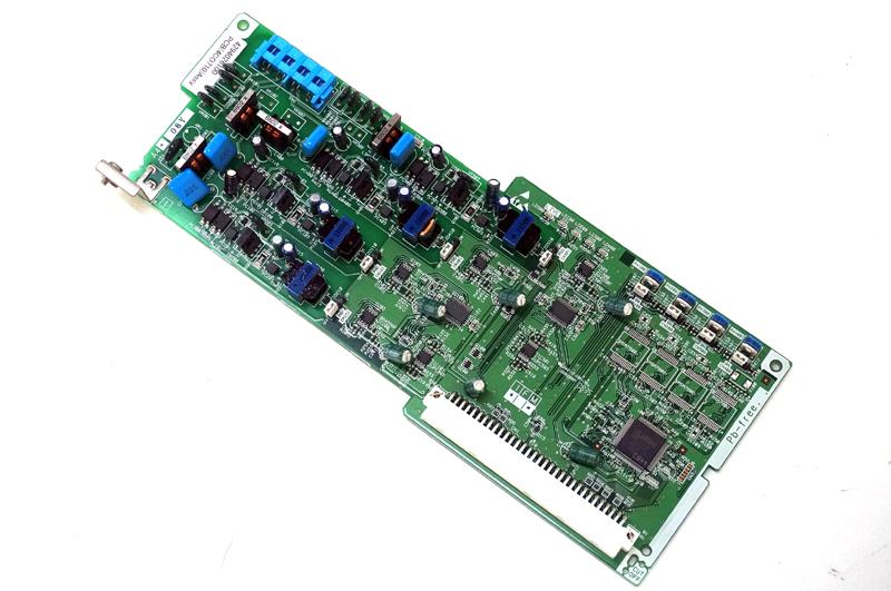 【中古】SAXA(サクサ) AGREA(HM700) 4アナログ局線ユニット アナログ回線を4回迄線収容、ひかり電話オフィスでOG410XaかOG810Xa利用時に使用可能 4CO710