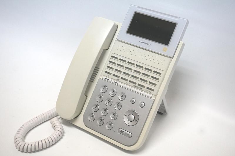 【中古】NAKAYO(ナカヨ) iFシリーズ 2F2シリーズ 24ボタン標準電話機 白 ビジネスホン、標準タイプの電話機 NYC-24iF-SDW