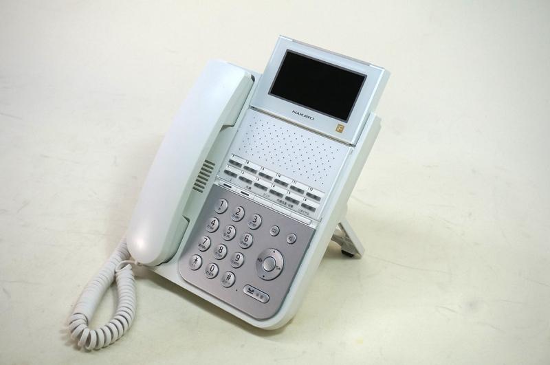【中古】NAKAYO(ナカヨ) iFシリーズ 2F2シリーズ 12ボタン標準電話機 白 ビジネスホン、標準タイプの電話機 NYC-12iF-SDW