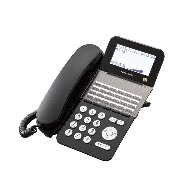 【新品】ナカヨ製(NAKAYO) Siシリーズ 24ボタン標準電話機 黒 ブラック ビジネスホン 24キー漢字表示LCD バックライト NYC-24SI-SDB発注商品の為ご注文後のキャンセル、返品、交換は出来ません。