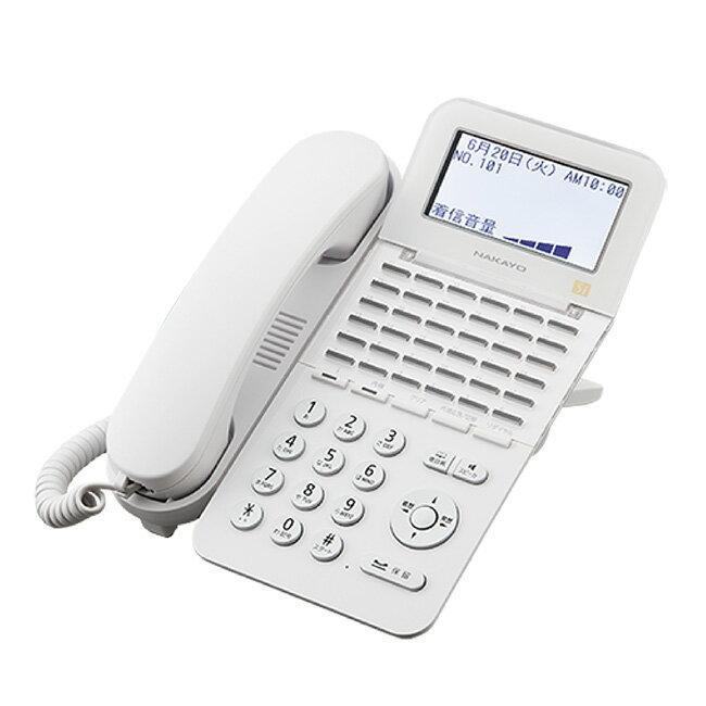 【新品】ナカヨ製(NAKAYO) Siシリーズ 36ボタン標準電話機 白 ホワイト ビジネスホン 36キー漢字表示LCD バックライト NYC-36SI-SDW発注商品の為ご注文後のキャンセル、返品、交換は出来ません。