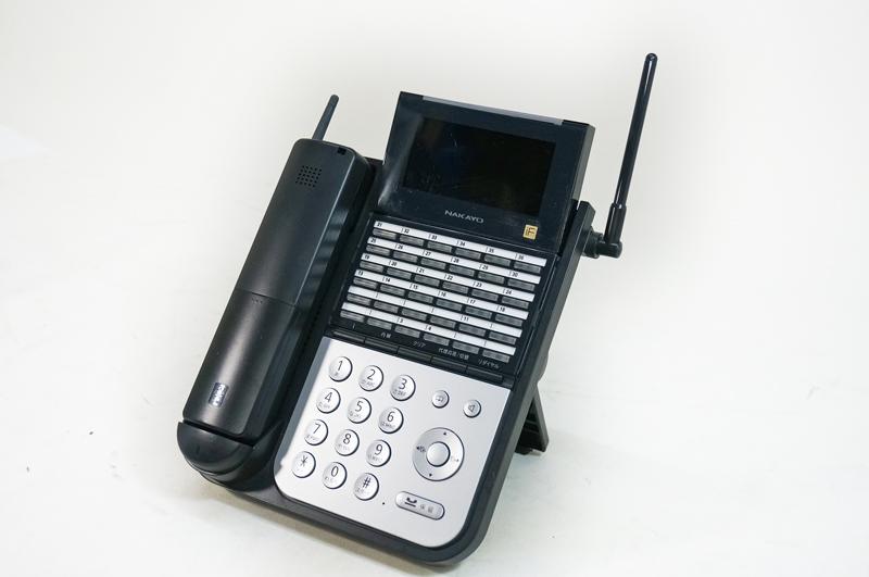 【中古】NAKAYO(ナカヨ) iFシリーズ 36ボタンDECTカールコードレス電話機 黒 NYC-36iF-DHCLB 【示名条修正済】