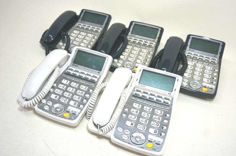 こちらの商品は中古となります 通販 中古ビジネスフォン NTT製:TT07 NTT セール特価 BX2専用BX2-ISDN留守番停電電話機 白 2台BX2-ISDN留守番停電電話機 黒 3台