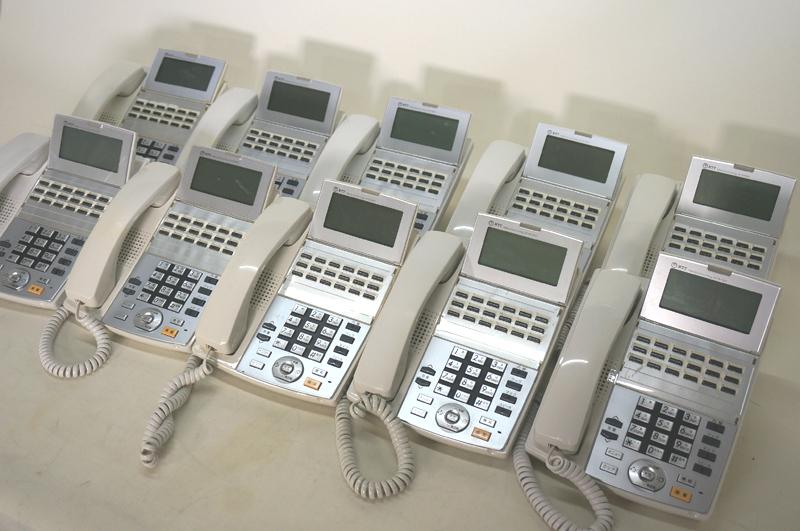 【中古ビジネスホンセット ×10台 ナカヨ製:tt104 白】NX18STEL-(1)(W) NX-18ボタンスター標準電話機 白 ×10台, 看板ステッカーの やまカン:81e1d631 --- officewill.xsrv.jp