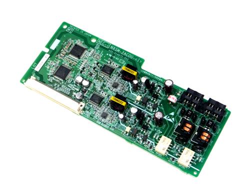 【中古】NTT αNX2 αNX 2局線アナログ外線ユニット ビジネスホン用、アナログ局線を2本収容可能 NXSM-2ACOU-(1)