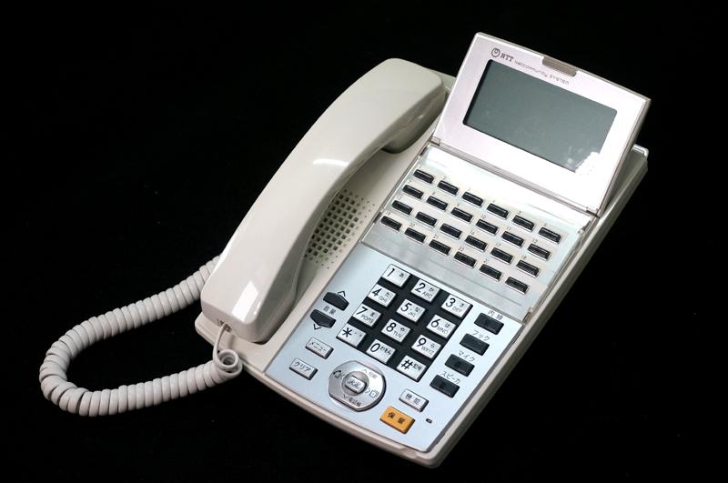 【中古】NTT αNX 24ボタンスター標準電話機 白 ビジネスホン、スター配線用、24ボタンの標準タイプの電話機 NX-(24)STEL-(1)(W)